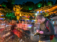 Taking shortcuts: sketching in Lijiang